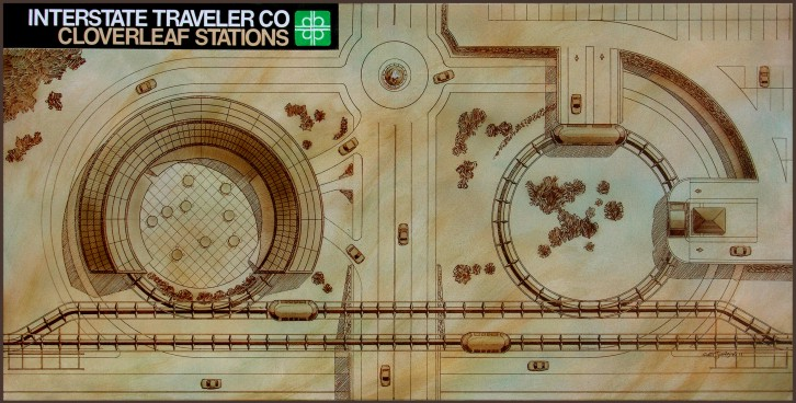 Traveler Stations in the Clover Leaf